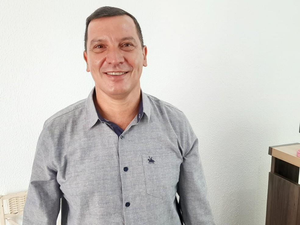 Mauro Ronaldo foi o escolhido do Solidariedade para disputar a vaga de prefeito de Porto Velho — Foto: Diêgo Holanda/G1