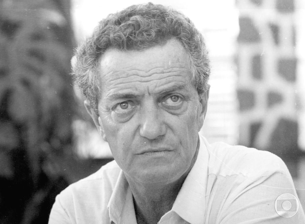O ator e diretor Henrique Martins (Foto: Acervo Globo)