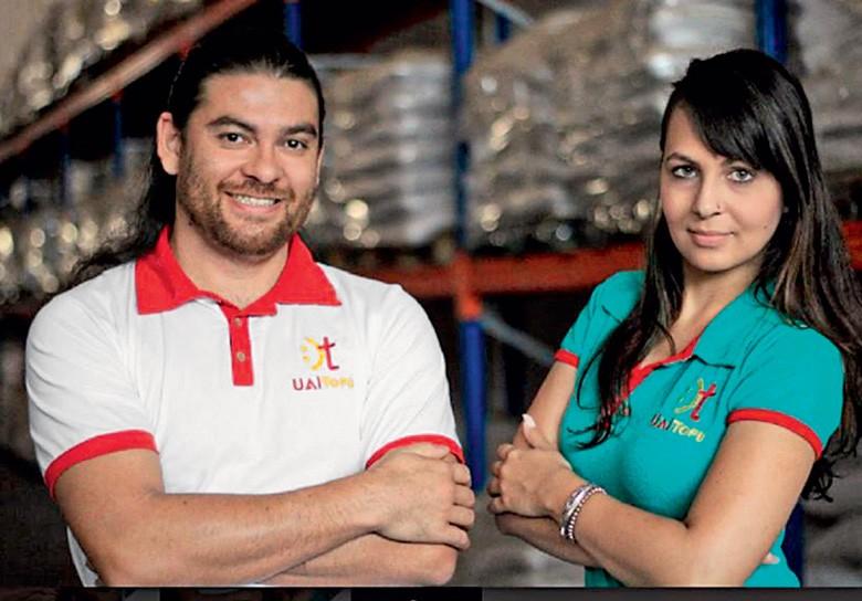 UAI Tofu vegano - Laércio Almeida e a esposa, Hanna Benites (Foto: Divulgação)