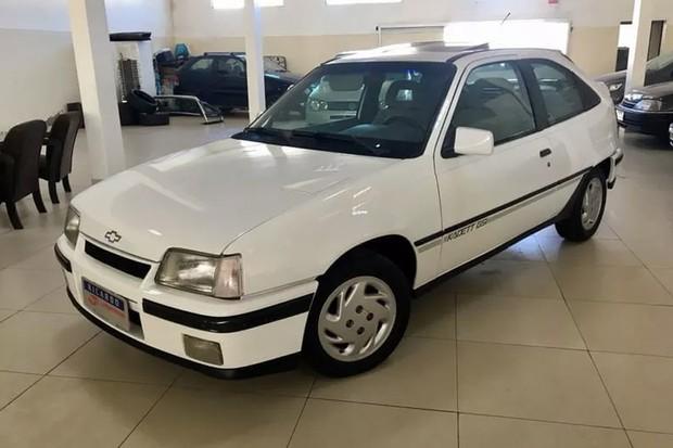 O Chevrolet Kadett GSi é bem mais esperto que o GS de 1989 (Foto: Reprodução)