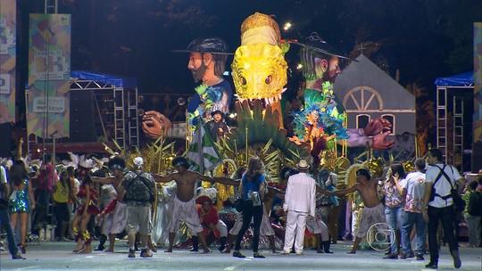 Escola de samba Canto da Alvorada é a campeã do carnaval de BH