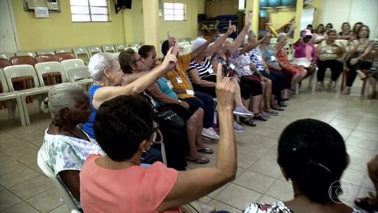 Programas voltados para idosos no RJ e em SP incentivam o envelhecimento saudável