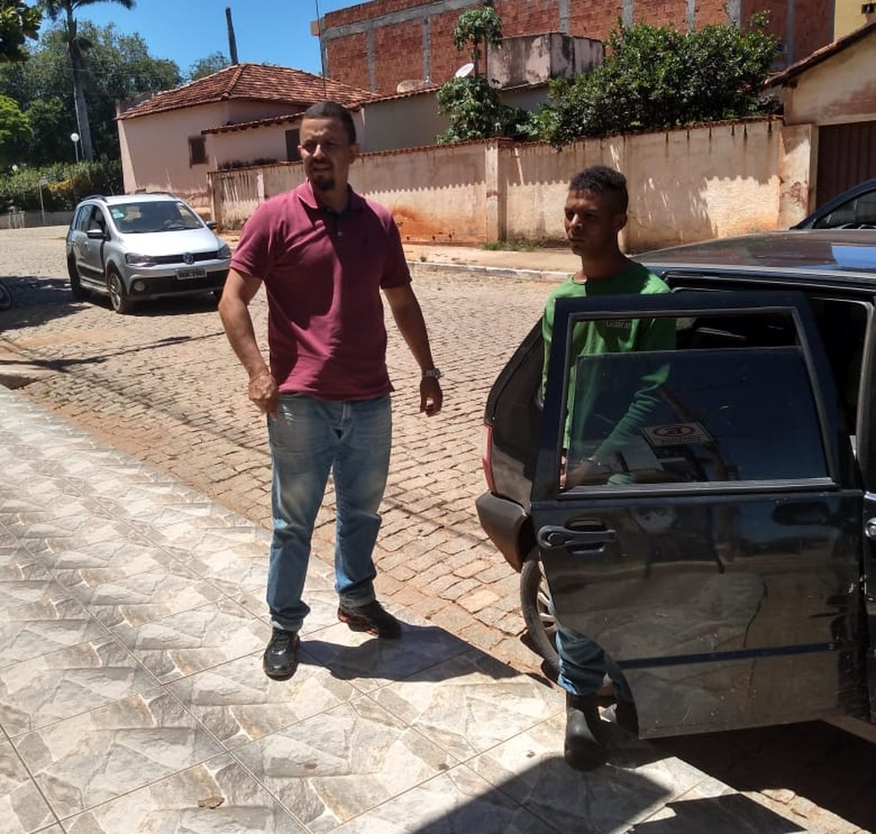 Homem foi preso na comunidade de Taboca — Foto: Divulgação