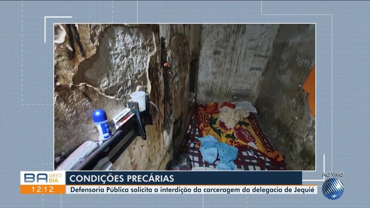 Defensoria Pública da Bahia denuncia condições sub humanas na delegacia de Jequié