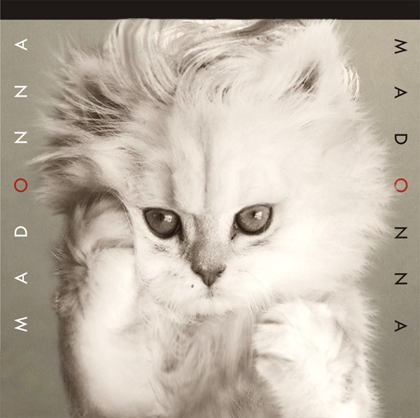 Álbum de Madonna em sua versão felina
