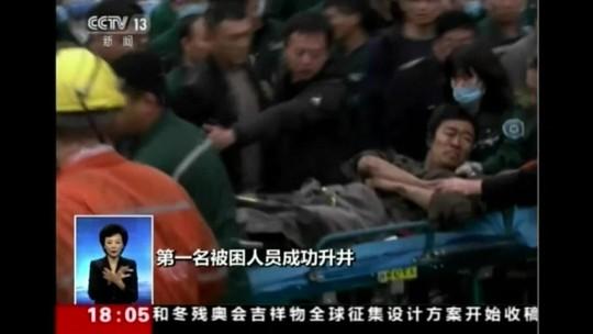 Equipes de resgate tentam salvar mineiros na China