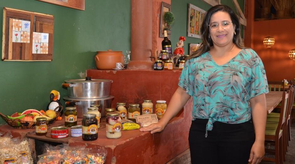 Vandirceia Gripa, fundadora do Ateliê dos Sabores (Foto: Jornal de Negócios do Sebrae-SP)