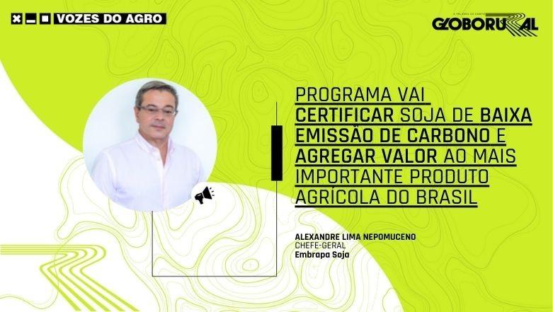 Vozes do Agro - Nepomuceno - Embrapa Soja (Foto: Estúdio de Criação)