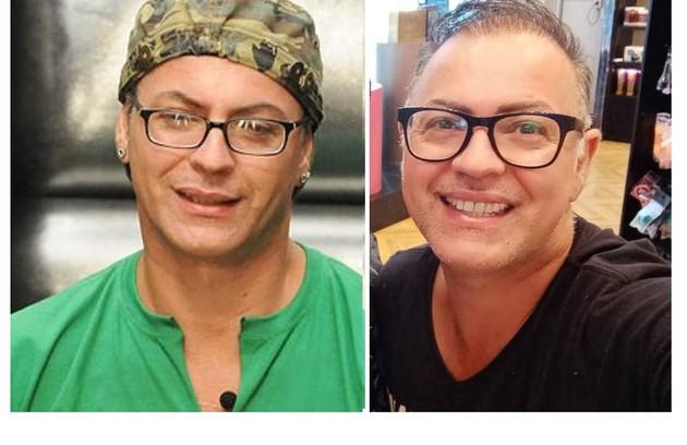 """Dicésar entrou com 44 anos no """"BBB"""" 10. Aos 55, ele trabalha como maquiador e coach de vendas (Foto: Reprodução)"""