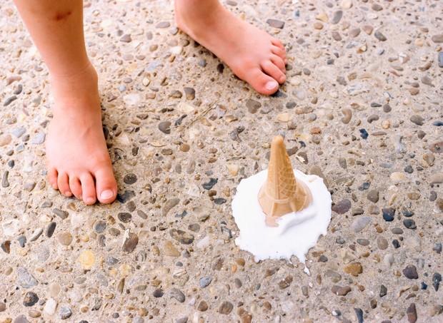 """""""Mamãe, me dá um sorvete?"""" (Foto: Thinkstock)"""
