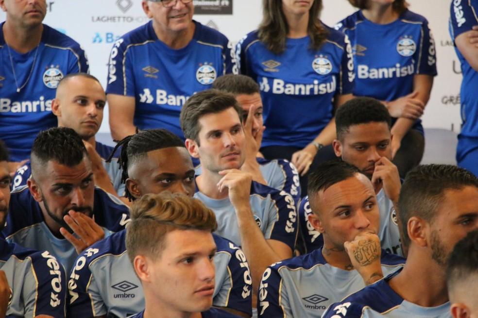 Julio Cesar, goleiro do Grêmio — Foto: Eduardo Moura