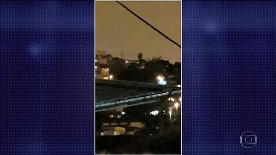Intensa troca de tiros é registrada em morro no Centro do Rio