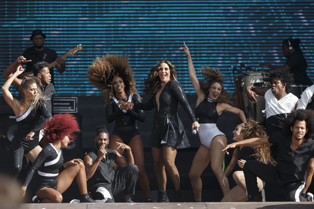 Ivete Sangalo se apresenta no Rock in Rio Lisboa (Foto: Divulgação )