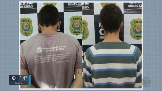 Dois homens são presos em Pouso Alegre por suspeita de latrocínio em Borda da Mata