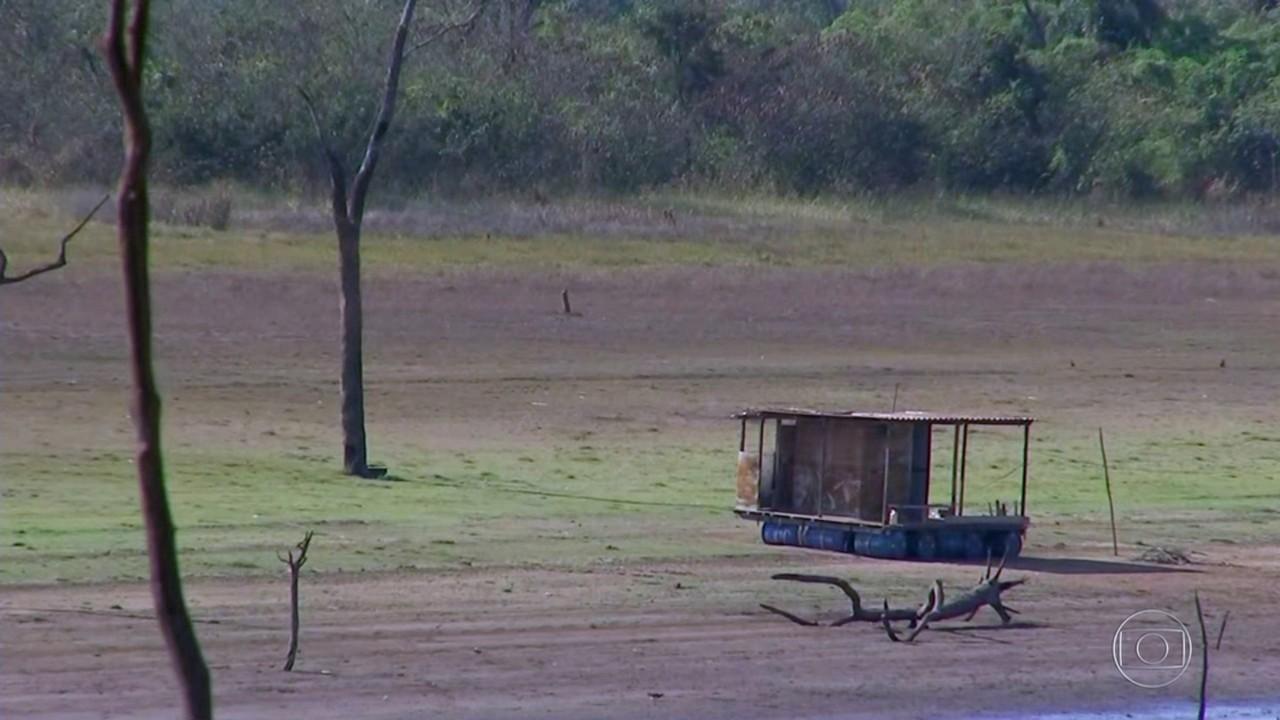 Estiagem e calor obrigam moradores de cidades do noroeste paulista a racionar água