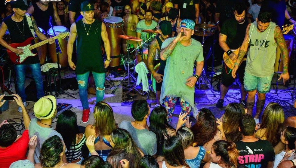 Banda Mizerê agira com swuingueira — Foto: Divulgação