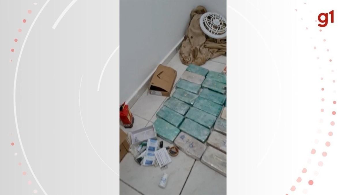 Casal e amigo são presos com 24 quilos de cocaína onde moravam com criança de 1 ano, em Campo Grande