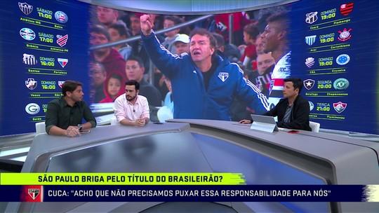 """Repórter põe São Paulo candidato ao Brasileiro, mas vê time jogando """"menos que Santos e Flamengo"""""""