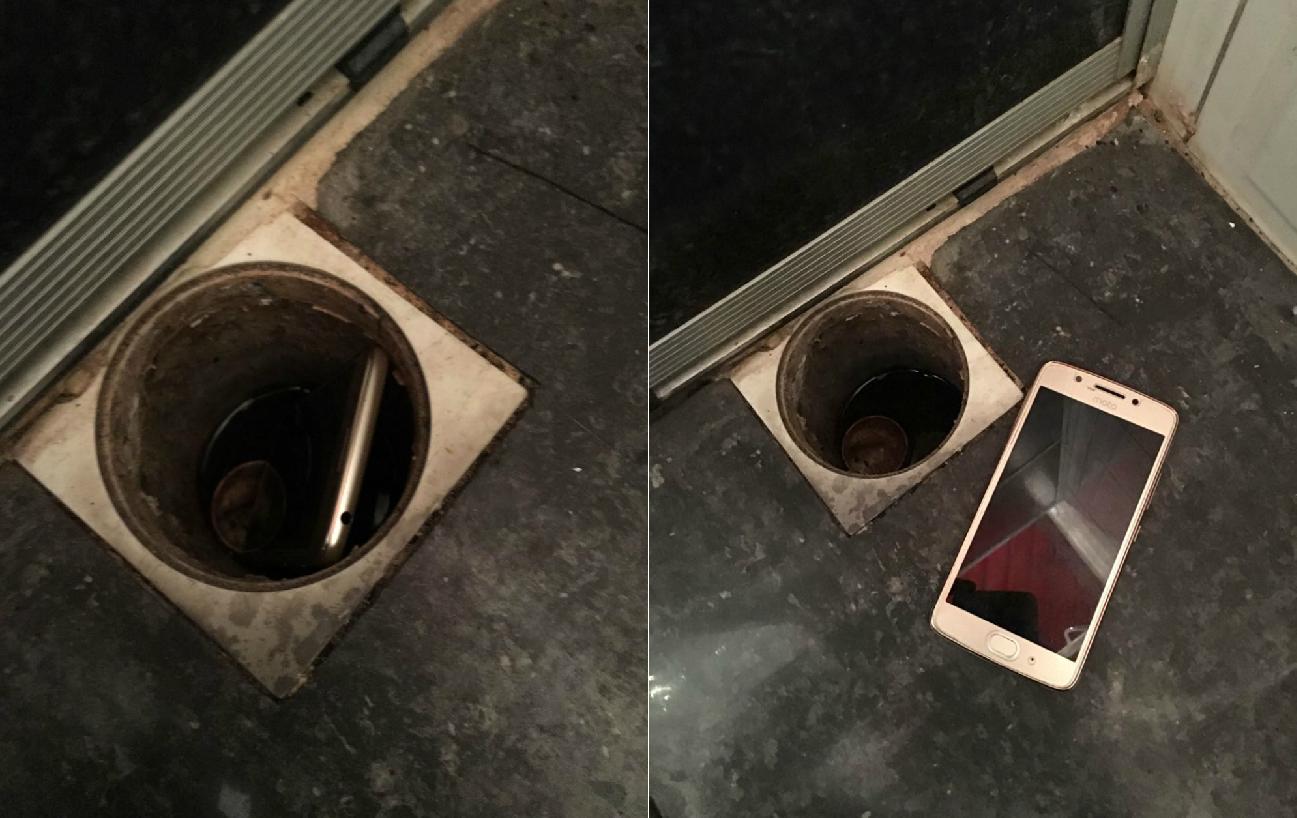 Preso por desvio de merenda escolar no AP escondeu celular em ralo de banheiro