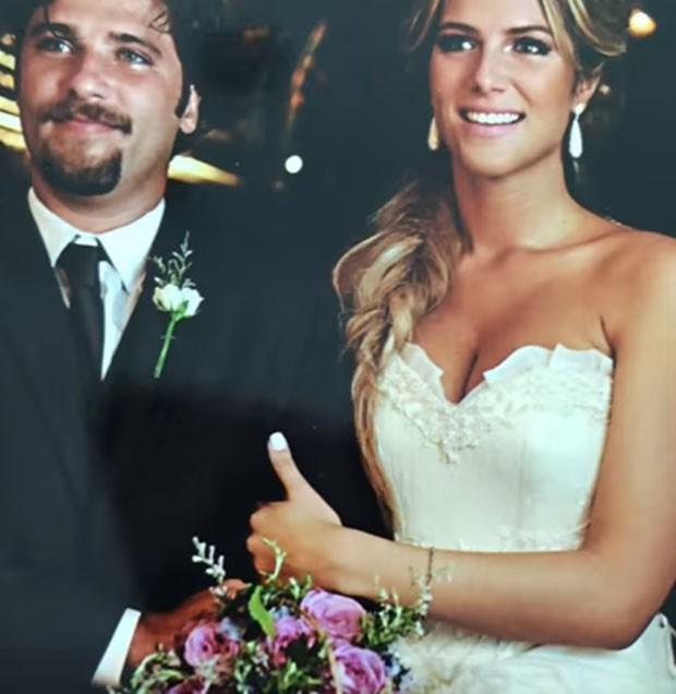 Giovanna Ewbank e Bruno Gagliasso no casamento (Foto: Reprodução)