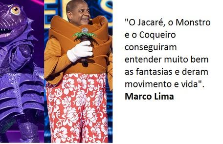 Marco Lima diz que suas preferidas também são Coqueiro e Jacaré Globo