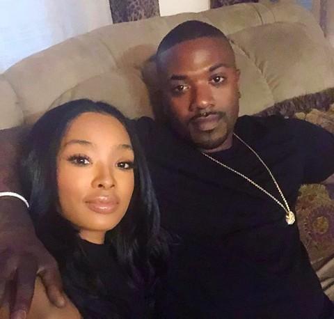 O rapper Ray J com a esposa (Foto: Instagram)