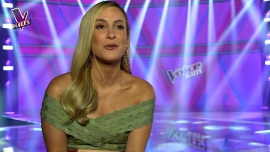 'The Voice Kids': Claudia Leitte fala sobre Neto Junqueira, seu representante na grande final