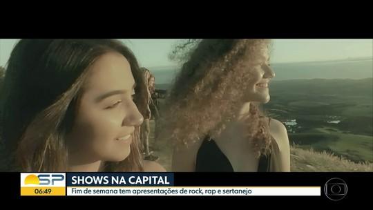 Helloween, Maiara & Maraisa e Projota estão entre shows neste final de semana em SP; G1 comenta em VÍDEO