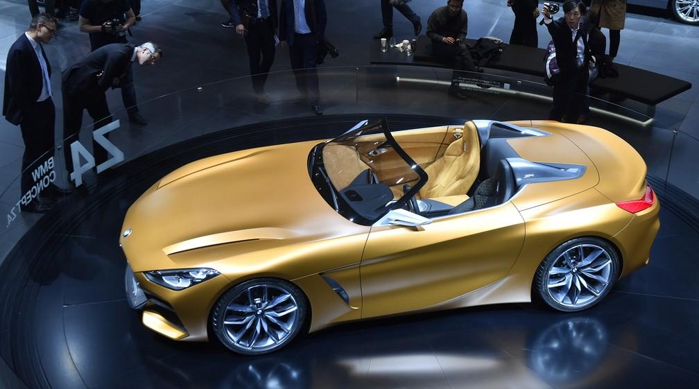 BMW Z4 Concept (Foto: AP Photo/Martin Meissner)