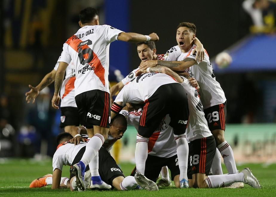 Favoritismo do Flamengo motiva a equipe do River, diz capitão