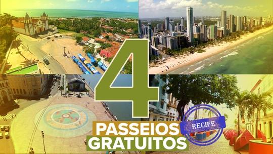 Turismo no Recife: veja 4 passeios grátis