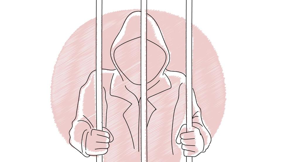 Perseguição pode dar cadeia — Foto: Daniel Ivanaskas/Arte G1
