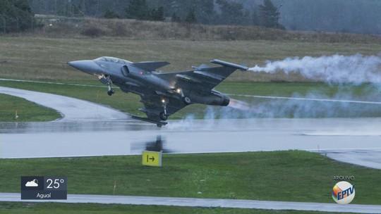 Primeiro caça Gripen produzido pela Embraer de Gavião Peixoto será entregue em 2024