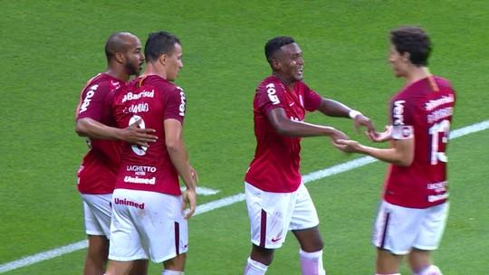Damião e Edenílson garantem a vitória do Inter: veja os gols
