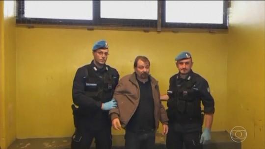 Cesare Battisti diz que prisão foi uma libertação