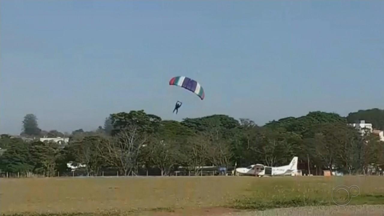 Paraquedista que morreu em Boituva era instrutor e tinha mais de mil saltos