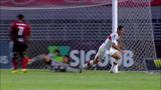 Em alta, Felipe Ferreira encosta em Léo Ceará e também vira artilheiro do CRB no Brasileiro