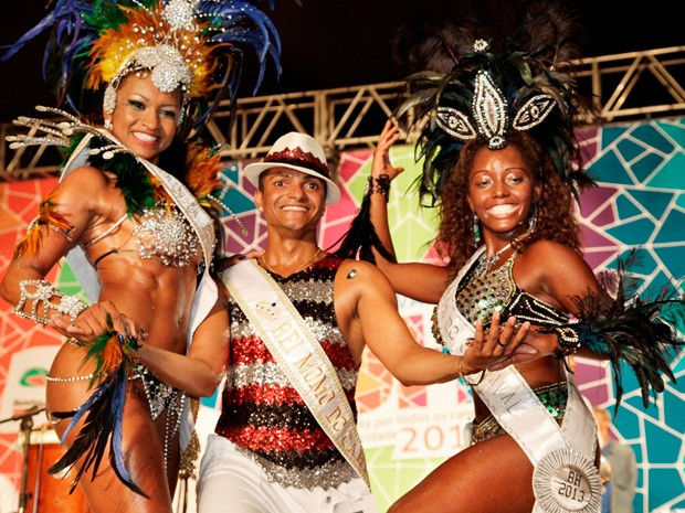 Pelo segundo ano consecutivo, BH tem rei momo em forma (Foto: Robson Vasconcelos/Belotur)