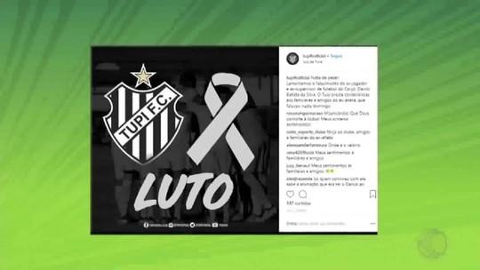 Ex-lateral do Tupi, Danilo Batista morre em Juiz de Fora