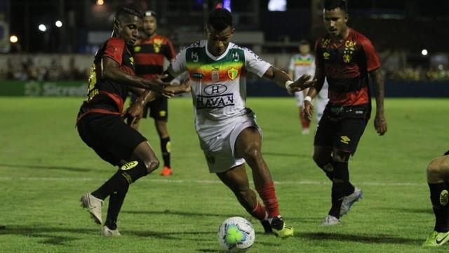 Brusque x Sport: time catarinense levou a melhor
