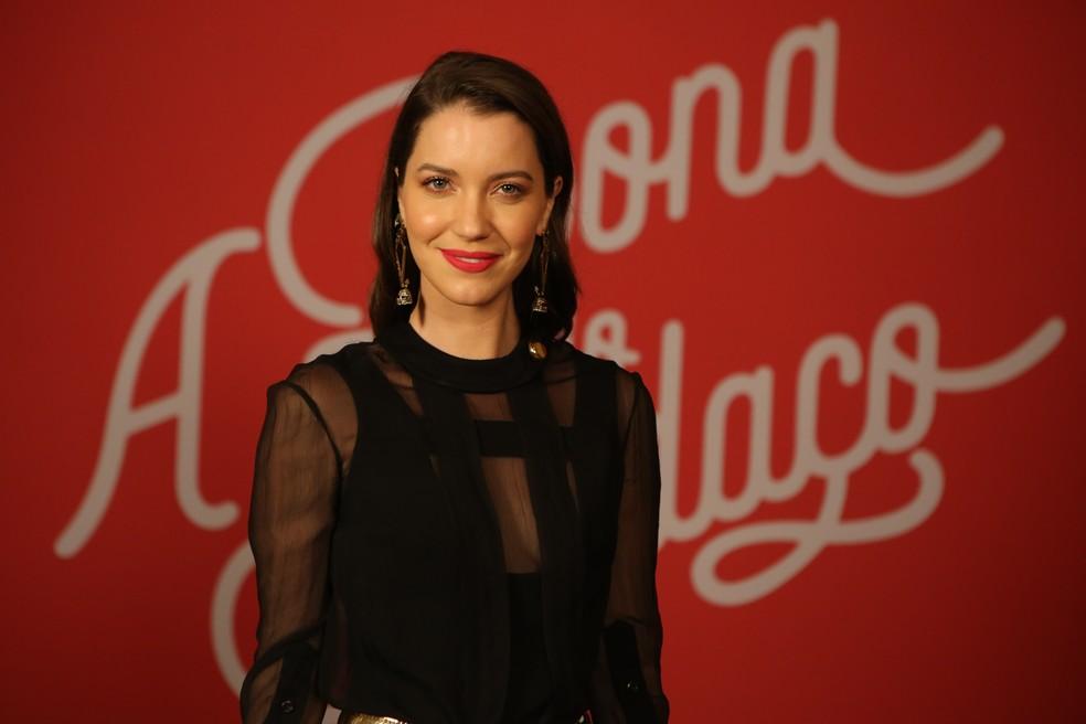Nathalia Dill fala, ainda, do apoio que recebe do noivo em seus trabalhos na TV — Foto: Isabella Pinheiro/Gshow