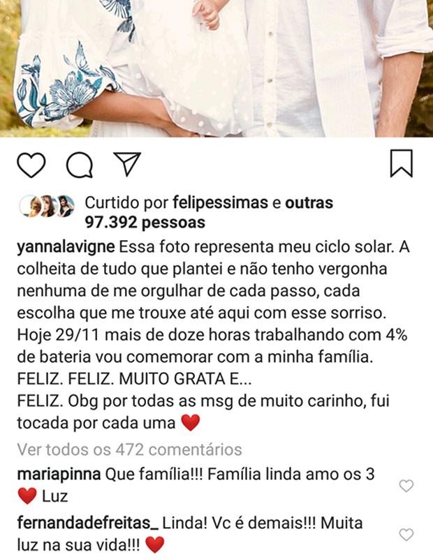 Maria Pinna comenta relação de Yanna Lavigne e Bruno Gissoni (Foto: Reprodução)