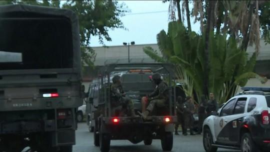 18 são presos em operação da polícia e das Forças Armadas no Rio