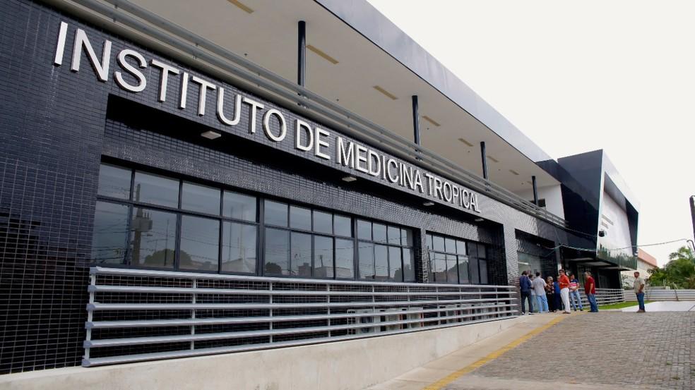 Instituto de Medicina Tropical da UFRN — Foto: Anastácia Vaz