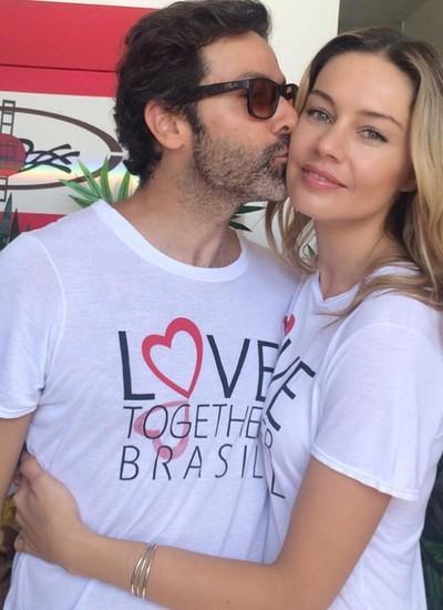 Gustavo Zylbersztanj e Patricia Beck: casal do bem contribui com a ONG (Foto: Divulgação)