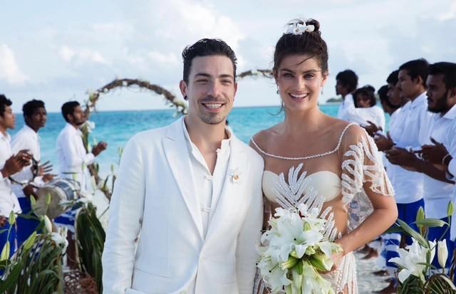 Casamento de Di Ferrero e Isabeli Fontana nas Maldivas (Foto: Divulgação)
