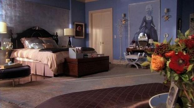 Quarto de Blair Waldorf, de Gossip Girl (Foto: Pinterest/Reprodução)