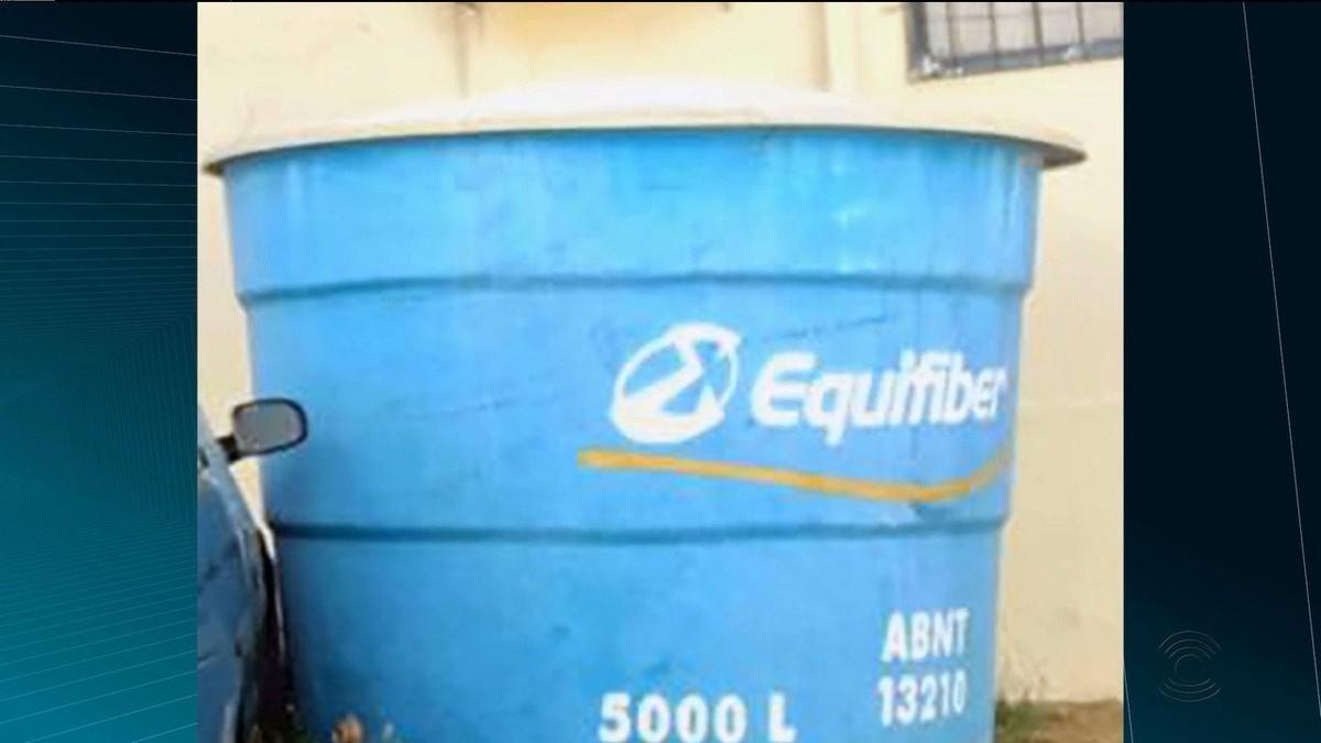 Justiça apreende caixa d'água retirada de comunidade por ex-vereador, na PB