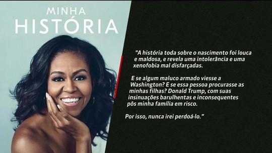 Michelle Obama divide trajetória pessoal em novo livro