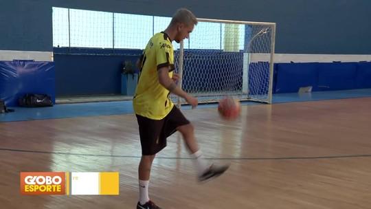 Técnico e jogador de Brasília vão para o futsal da Lituânia